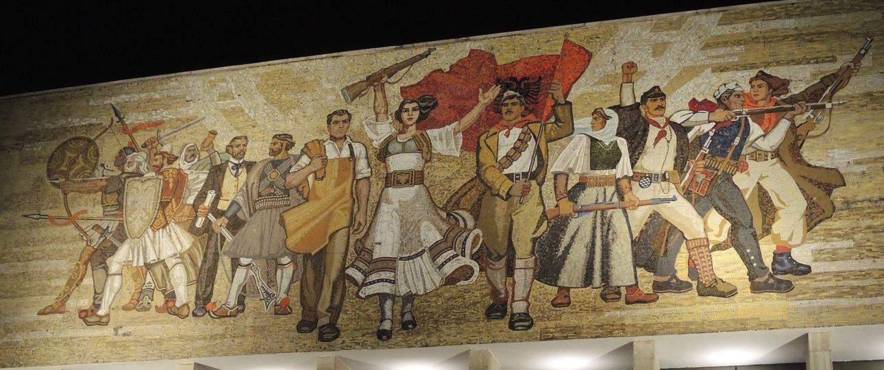Albansk historie i et nøtteskall